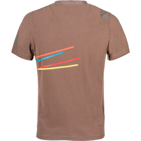 La Sportiva Stripe 2.0 - Camiseta manga corta Hombre - marrón